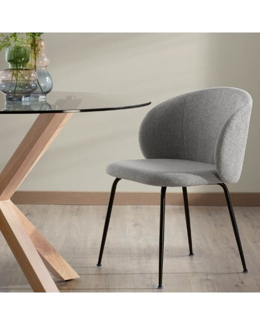 Chair Minna Light grey