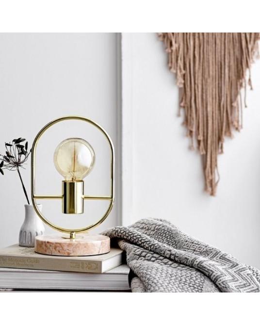Table Lamp Marble Ring