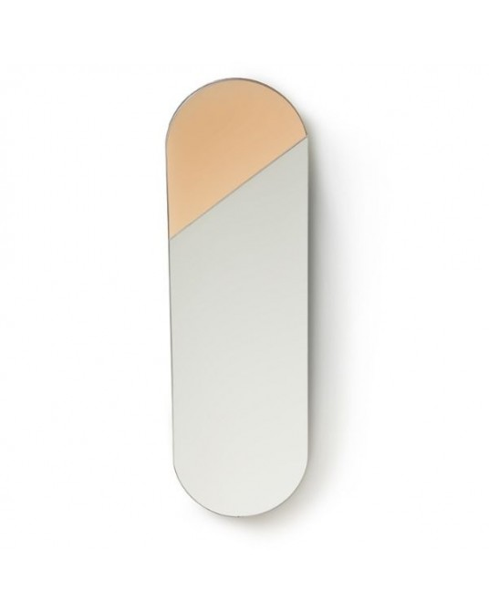 Oval Pink Mirror Mirror