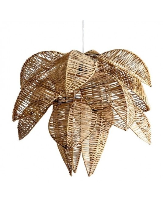 Ceiling Lamp Flower Rattan