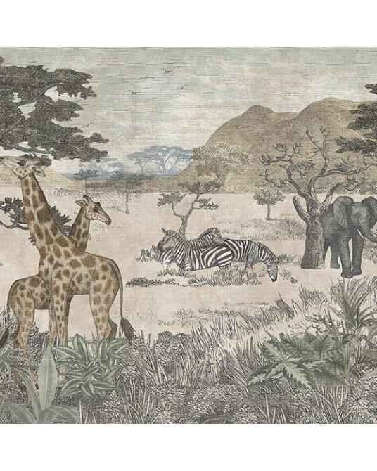 Mural Wallpaper Serengeti