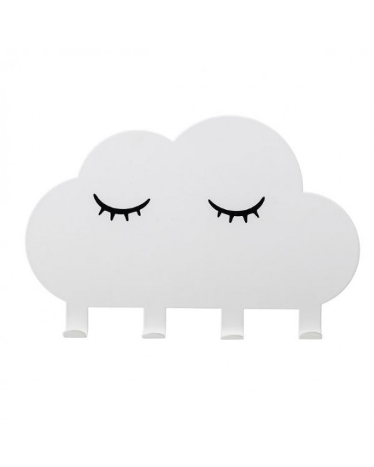 Cabide Nuvem Branca