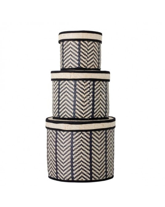 Set 3 Caixas Islim Chevron