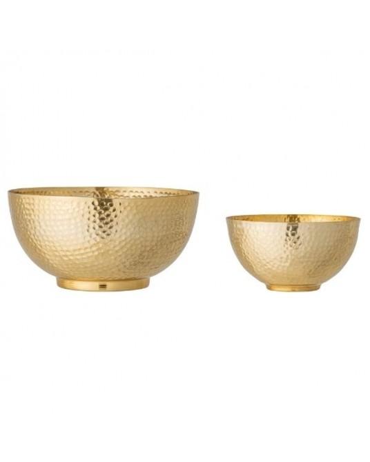 Set 2 Bowl Camelia Gold