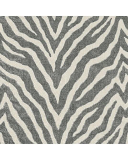 Etosha Velvet Graphite Fabric