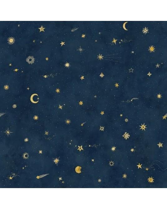 Papel de Parede Starry Sky Petrol