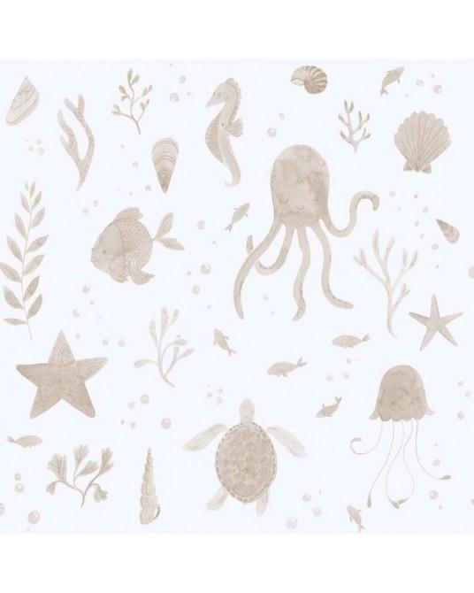 Papel de Parede Della Coral