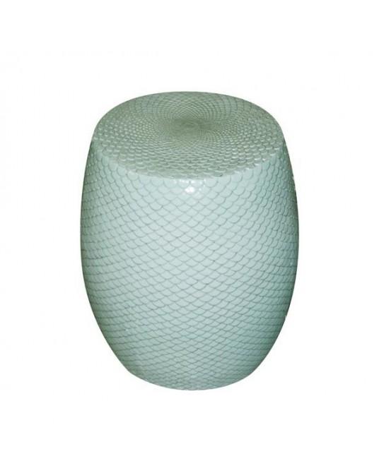 Ceramic Stool Fish Scales
