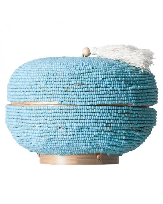 Caixa Azul Missangas