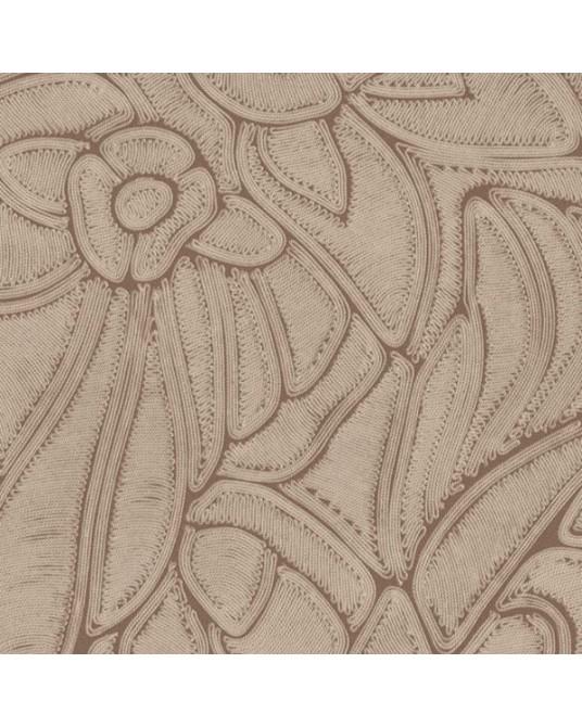 Papel de Parede Flore Terracotta