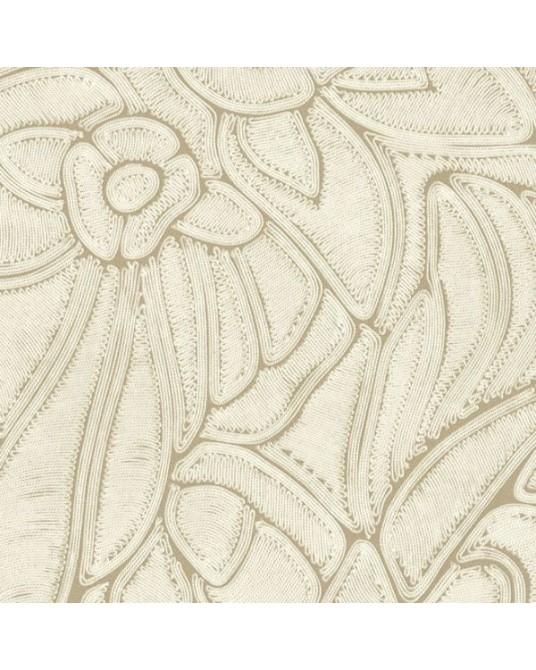 Papel de Parede Flore Bone