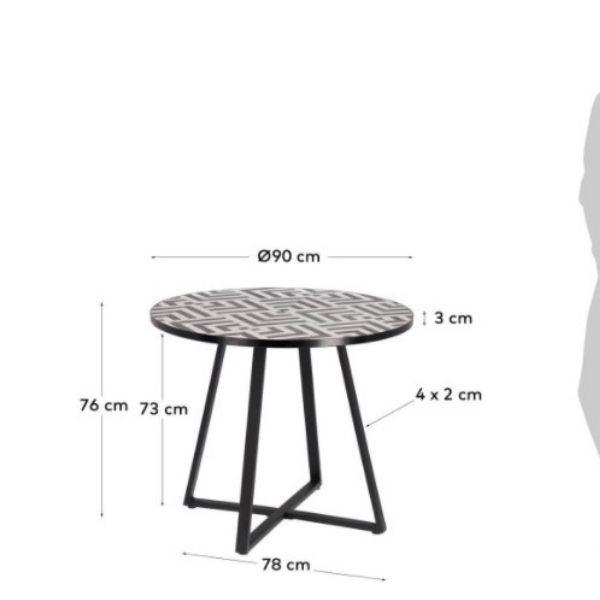 Mesa de Jantar Tella 90 cm