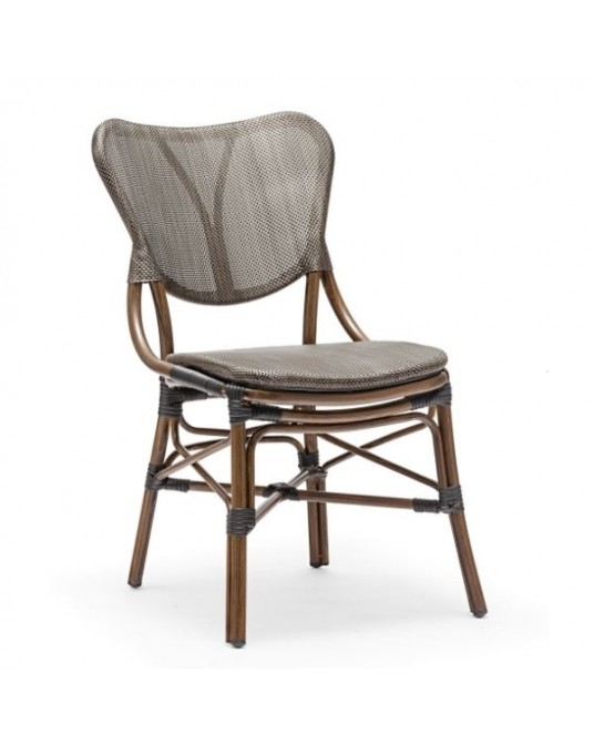 Outdoor Chair Riga Coffee