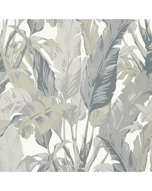 Papel de Parede Travelers Palm Grey