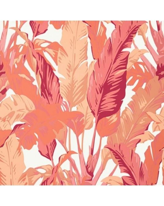 Papel de Parede Travelers Palm Pink Coral