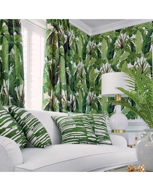 Papel de Parede Travelers Palm Green