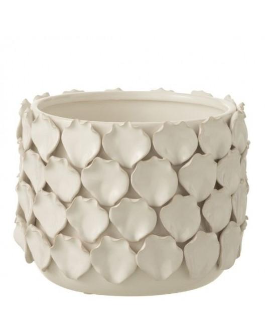 Vaso Petals Branco