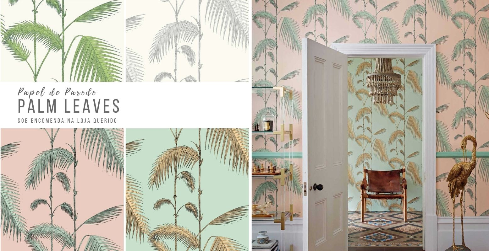 Papel de Parede Palm Leaves